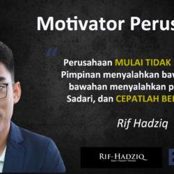 Perlunya Hadirkan Motivator Karyawan Di Perusahaan